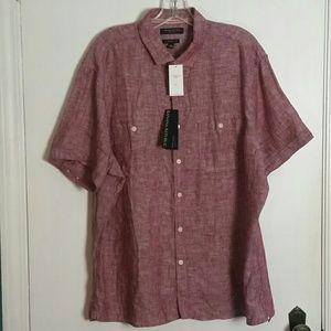 NWT Banana Republic Linen Shirt XL